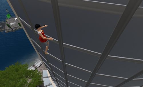 Forscherin versucht sich erfolglos als Fensterreinigerin