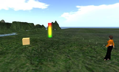 Unvergesslich ist das wunderbare Leuchten des 'Visusal Sim Time Dilation Meter 1.0 w/glow'